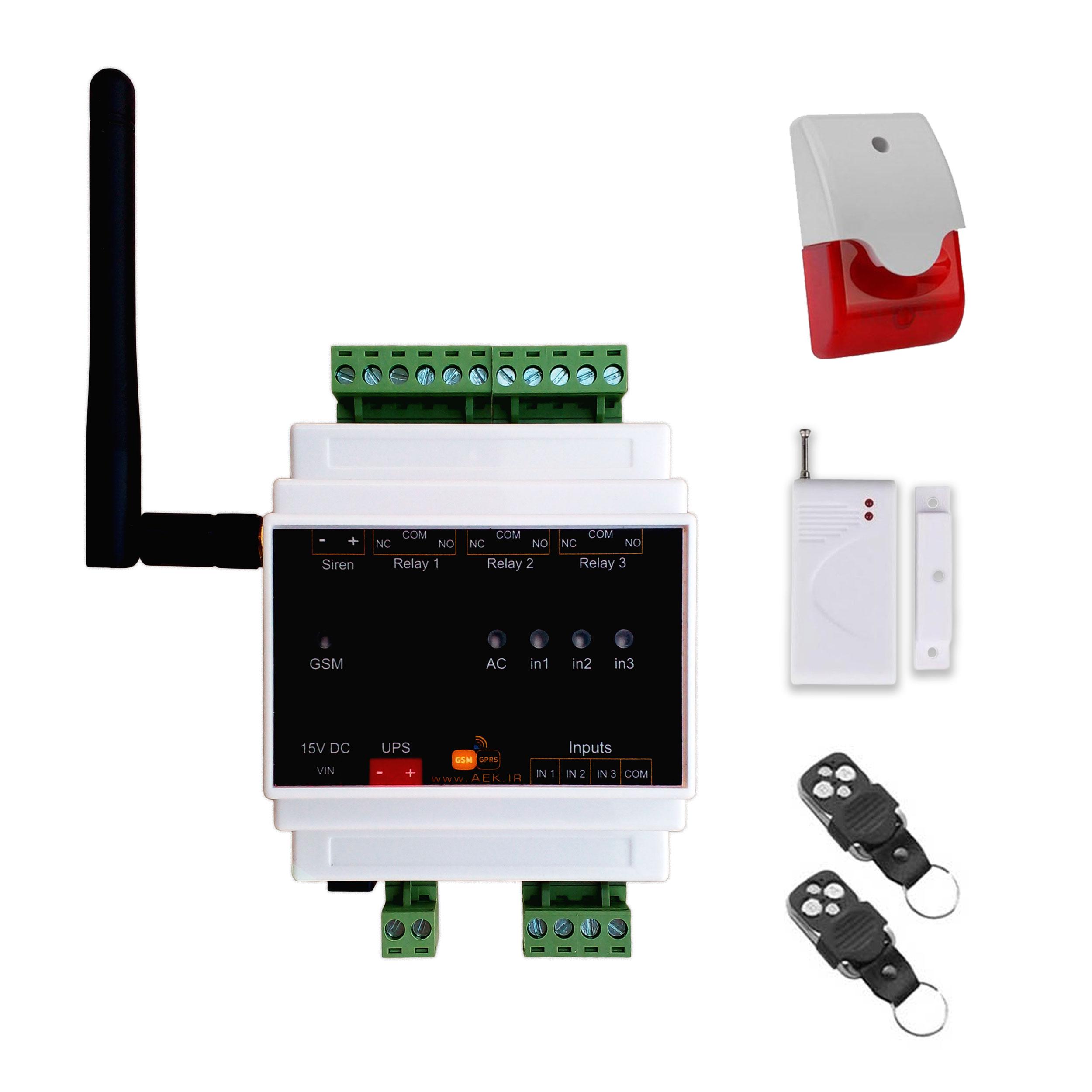 سیستم دزدگیر اینترنتی مدل IoMax-3R