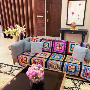 شال مبل و تخت مدل 3z سایز 170×110 سانتیمتر