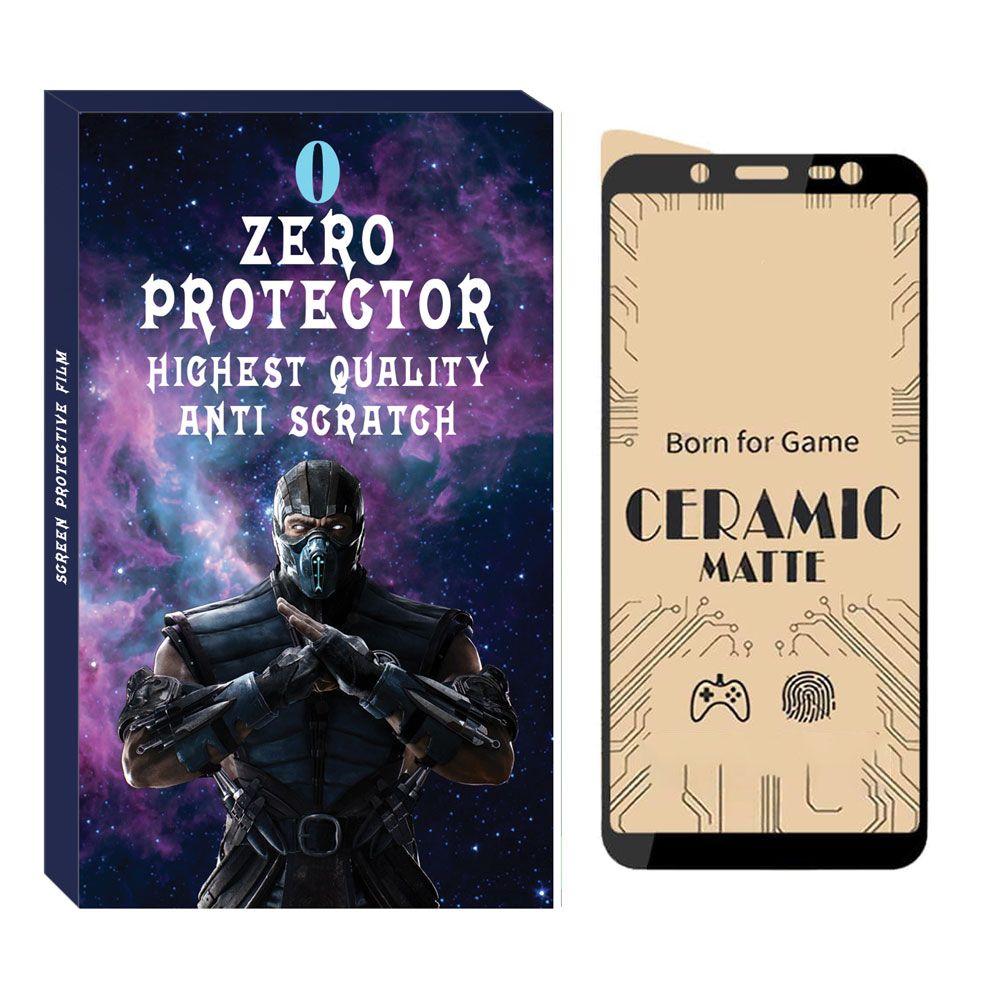 محافظ صفحه نمایش مات زیرو مدل CER-01 مناسب برای گوشی موبایل سامسونگ Galaxy A6 2018