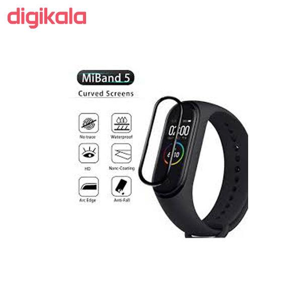 محافظ صفحه نمایش مدل K09 مناسب برای مچ بند هوشمند شیائومی Mi Band 5 main 1 5