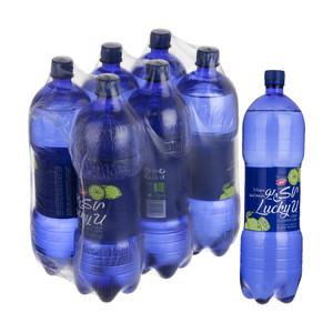 آب گاز دار لاکی یو کاله با طعم لیمو - 1500 میلی لیتر بسته 6 عددی