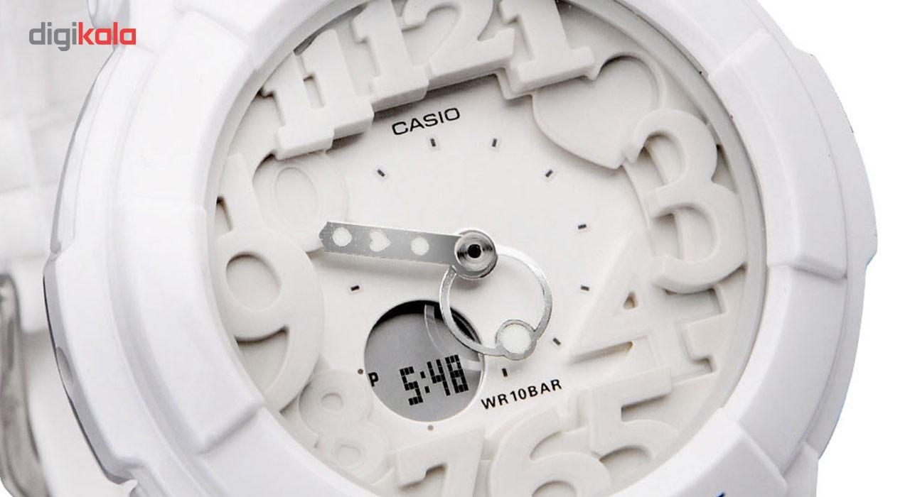 ساعت مچی عقربه ای زنانه کاسیو مدل BGA-131-7BDR