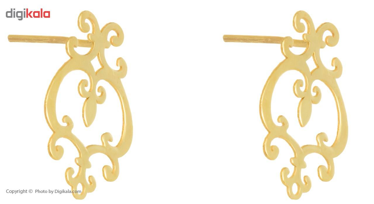 نیم ست طلا 18 عیار ماهک مدل MS0022 main 1 5