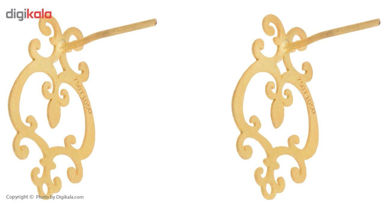 نیم ست طلا 18 عیار ماهک مدل MS0022 main 1 6