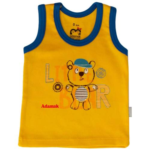 زیرپوش رکابی نوزادی آدمک مدل Little Bear