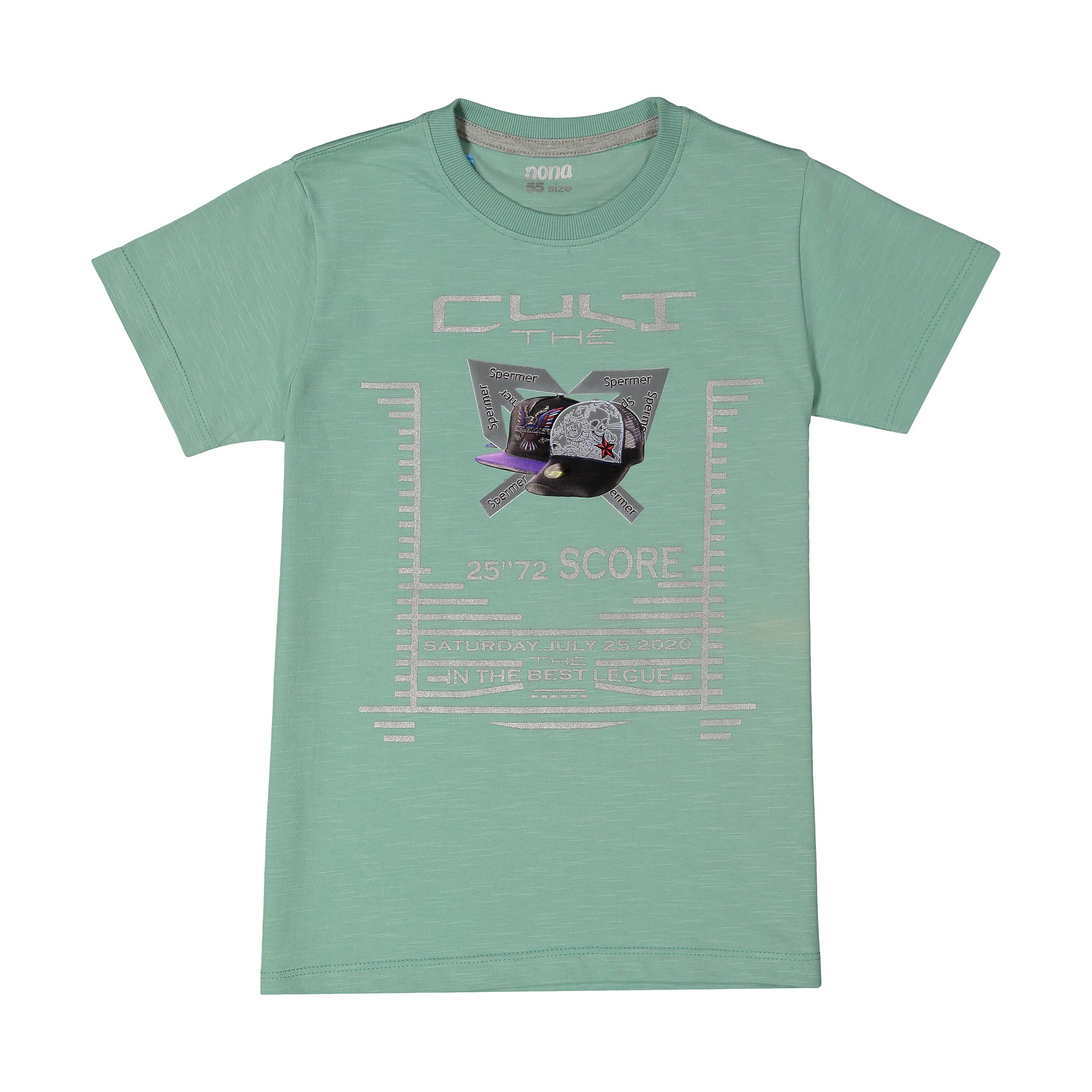 تی شرت پسرانه نونا مدل 2211111-41