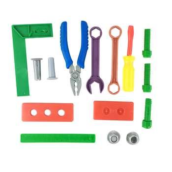 اسباب بازی ابزار فنی مکانیکی کد 1306 مجموعه 15 عددی