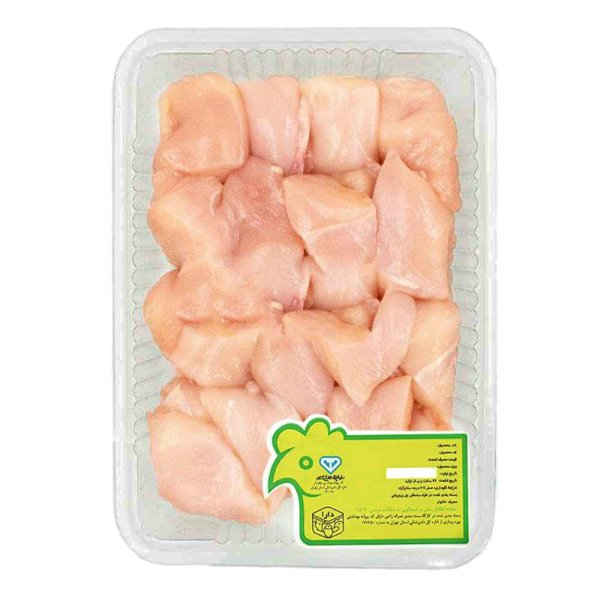 جوجه کباب سینه مرغ بدون ادویه دارا - 1 کیلوگرم