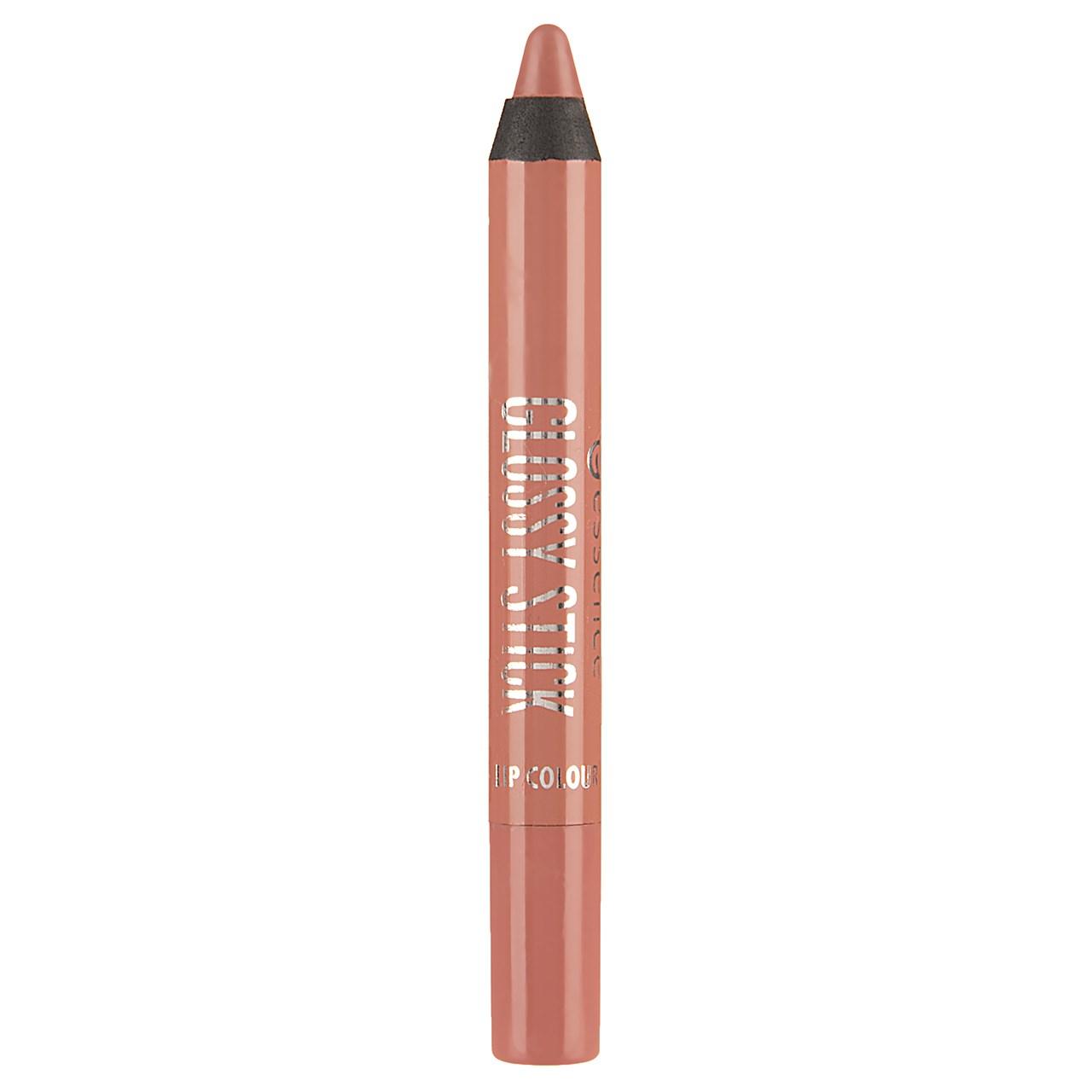 راهنمای خرید رژ لب مدادی اسنس سری Glossy Stick مدل Clear Nude شماره 02 لیست قیمت