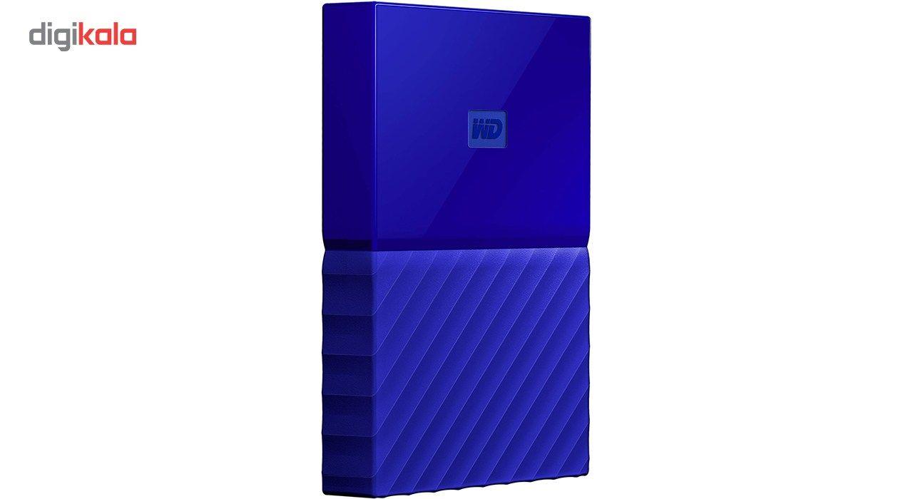 هارددیسک اکسترنال وسترن دیجیتال مدل My Passport WDBYFT0020B ظرفیت 2 ترابایت main 1 11