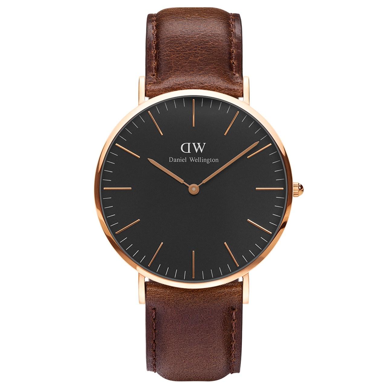 ساعت مچی عقربه ای مردانه دنیل ولینگتون مدل DW00100125              خرید (⭐️⭐️⭐️)