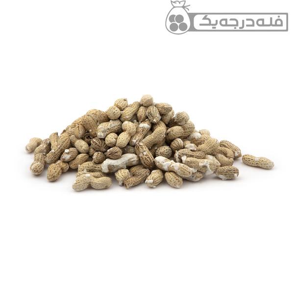 بادام زمینی با پوست فله - 500 گرم