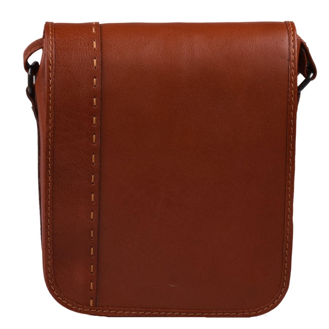 کیف دوشی چرم طبیعی کهن چرم مدل V103