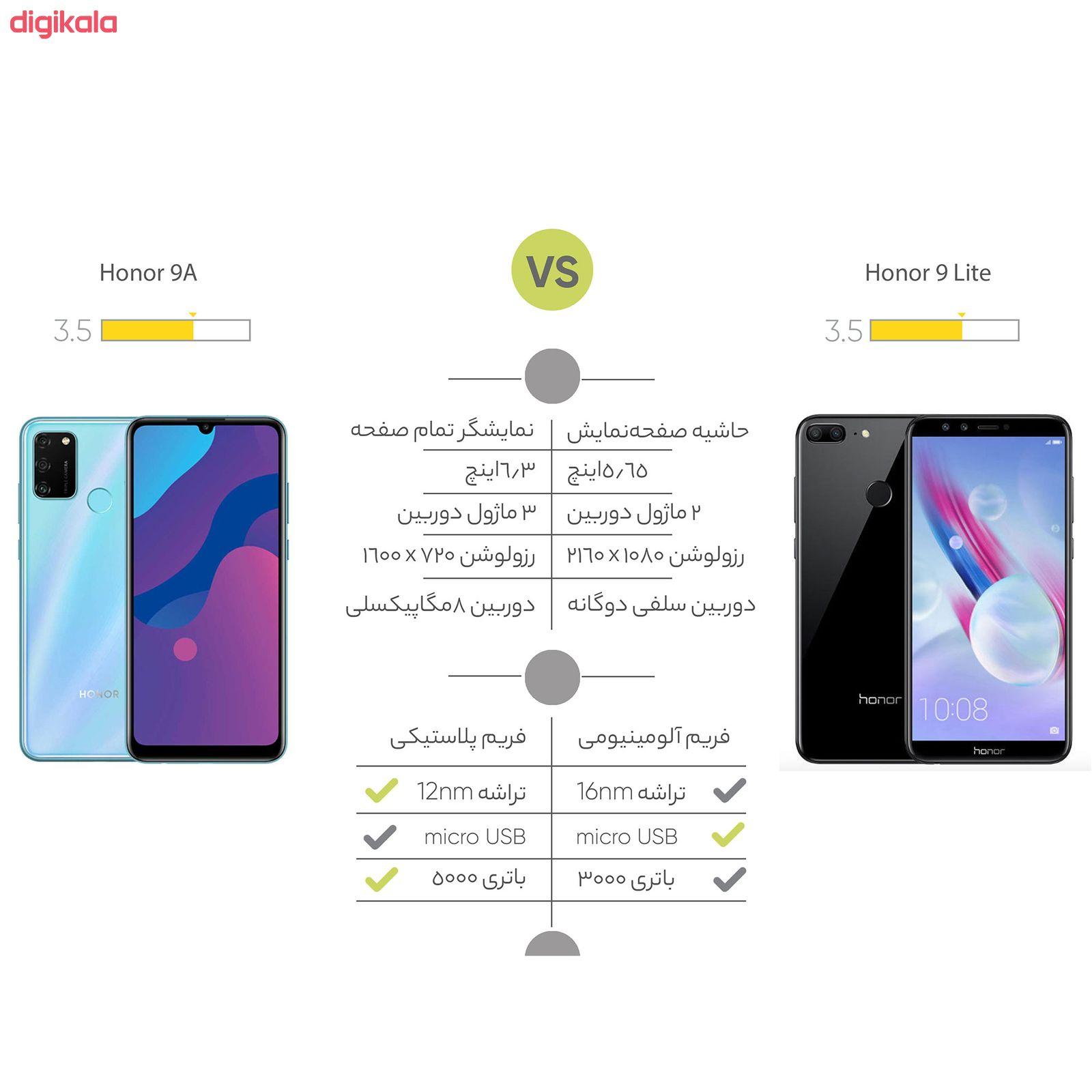 گوشی موبایل آنر مدل 9A MOA-LX9N دو سیم کارت ظرفیت 64 گیگابایت main 1 22