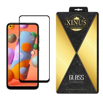 محافظ صفحه نمایش 5D ژینوس مدل FGX مناسب برای گوشی موبایل سامسونگ Galaxy A11