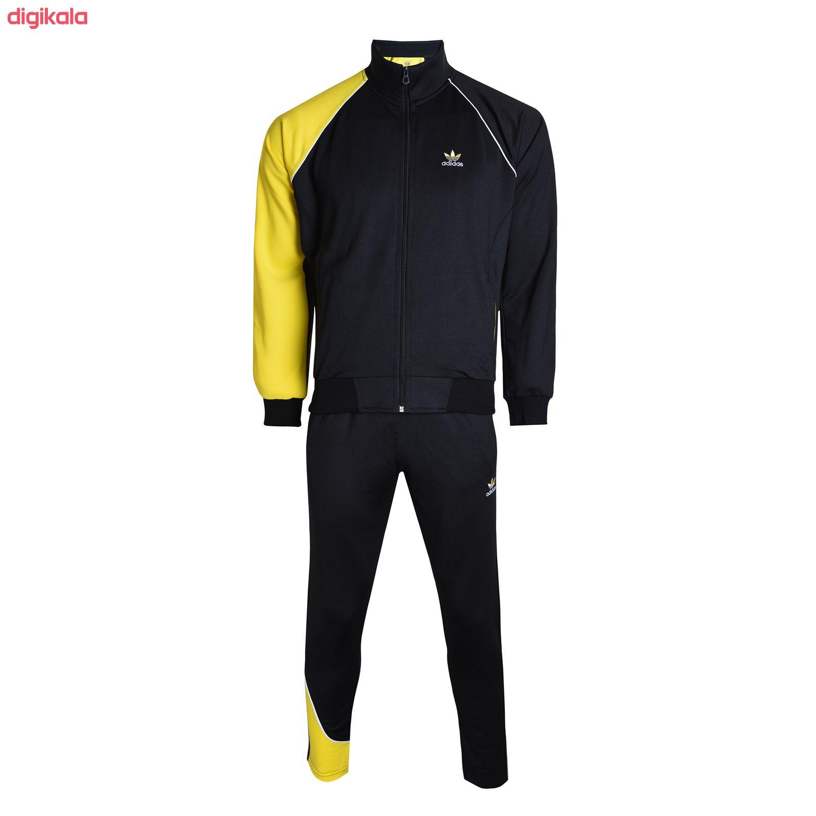 ست گرمکن و شلوار ورزشی مردانه کد AD0149by main 1 1