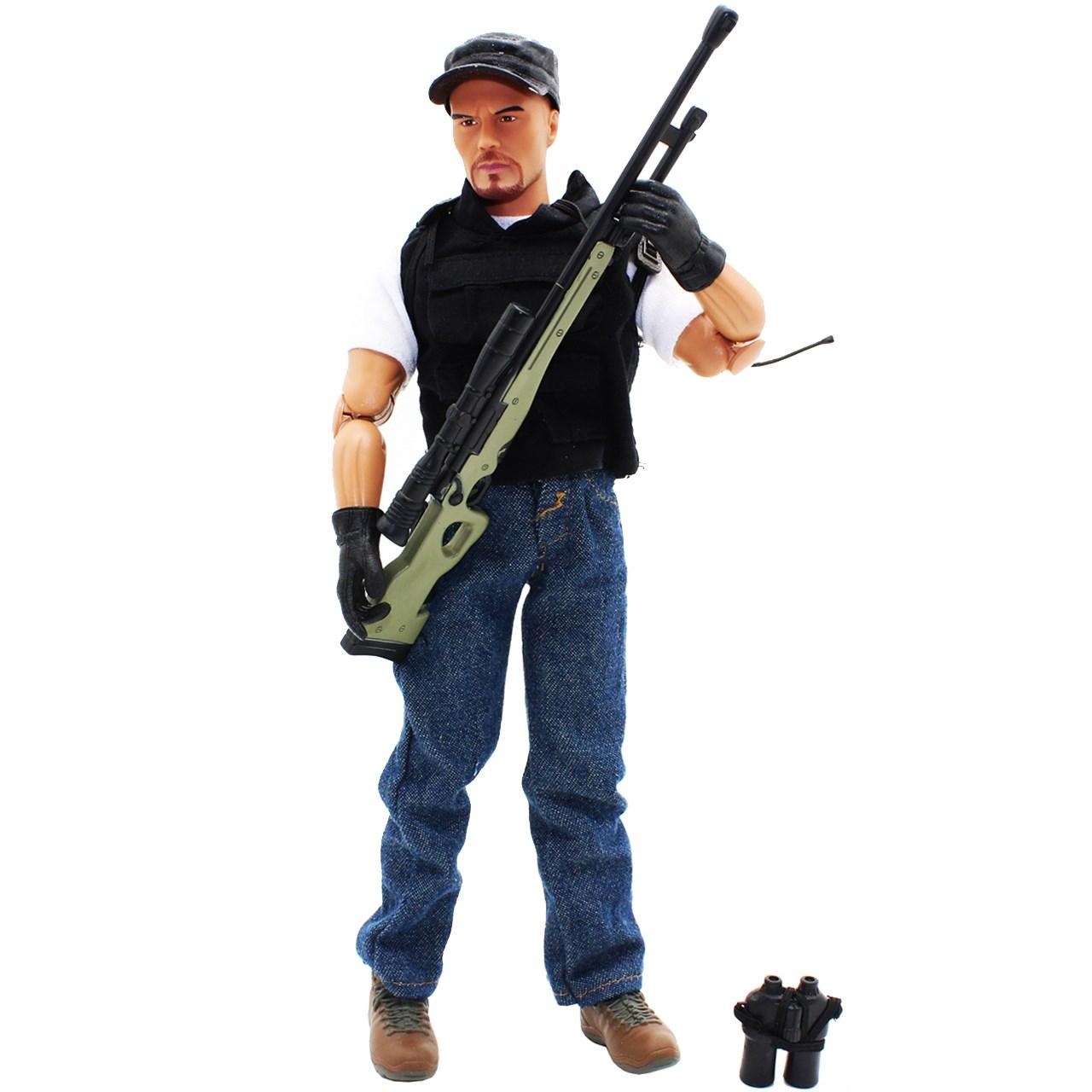 اکشن فیگور ام اند سی مدل Sniper Mercenary 90360B