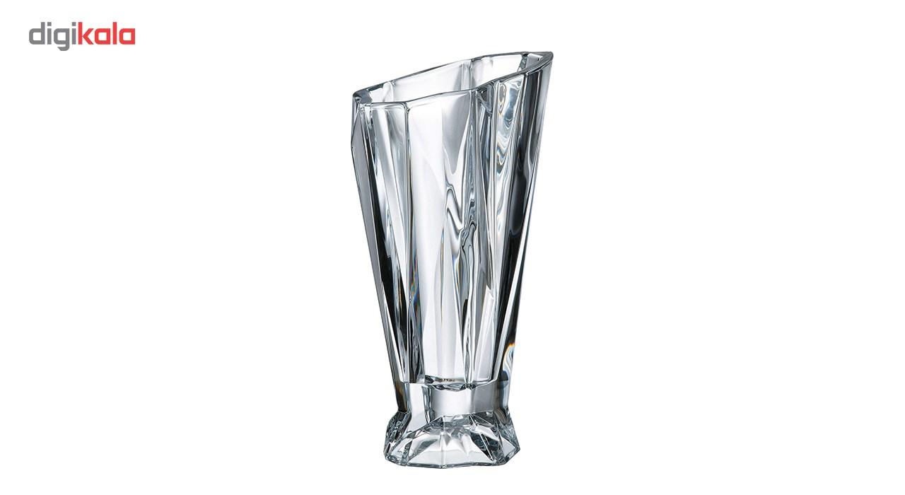 خرید                      گلدان کریستالی بوهمیا مدل آنجل پایه دار