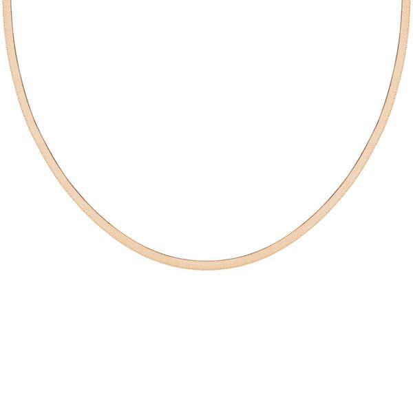 زنجیر طلا 18 عیار زنانه ریسه گالری مدل 5130