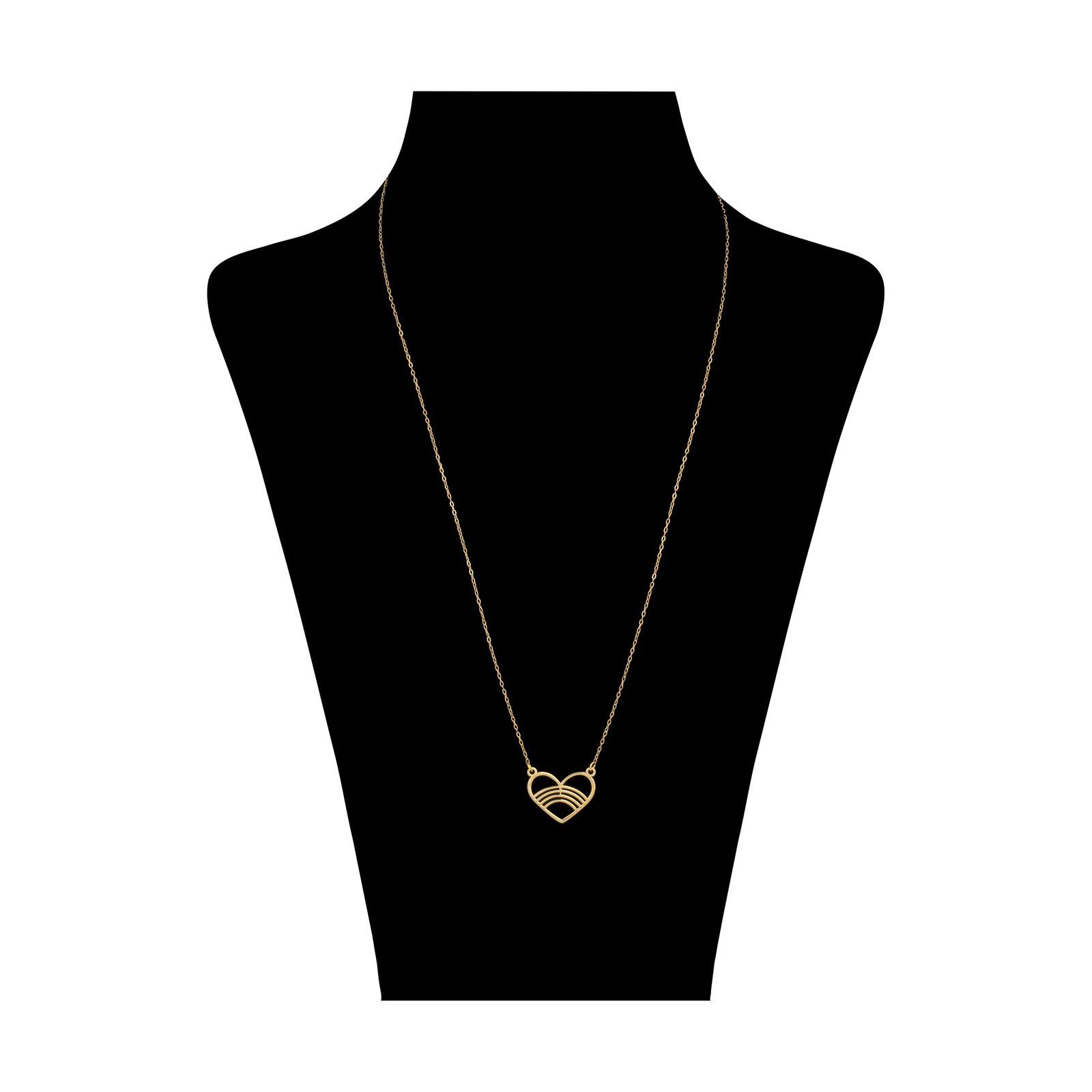 گردنبند طلا 18 عیار زنانه میو گلد مدل GD616 -  - 2