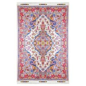فرش دستبافت شش متری مدل لچک ترنج کد 1001