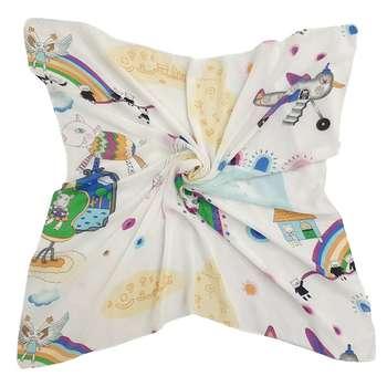روسری دخترانه مدل 6070