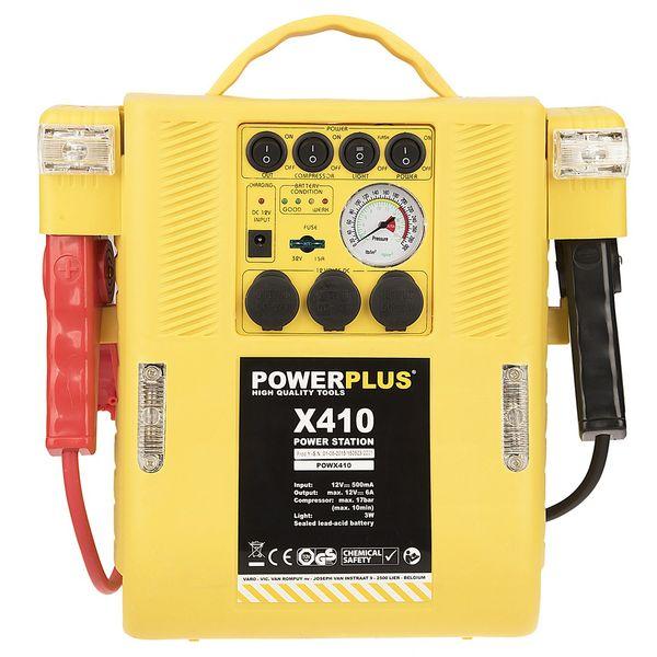 استارتر باتری خودرو پاورپلاس مدل X410