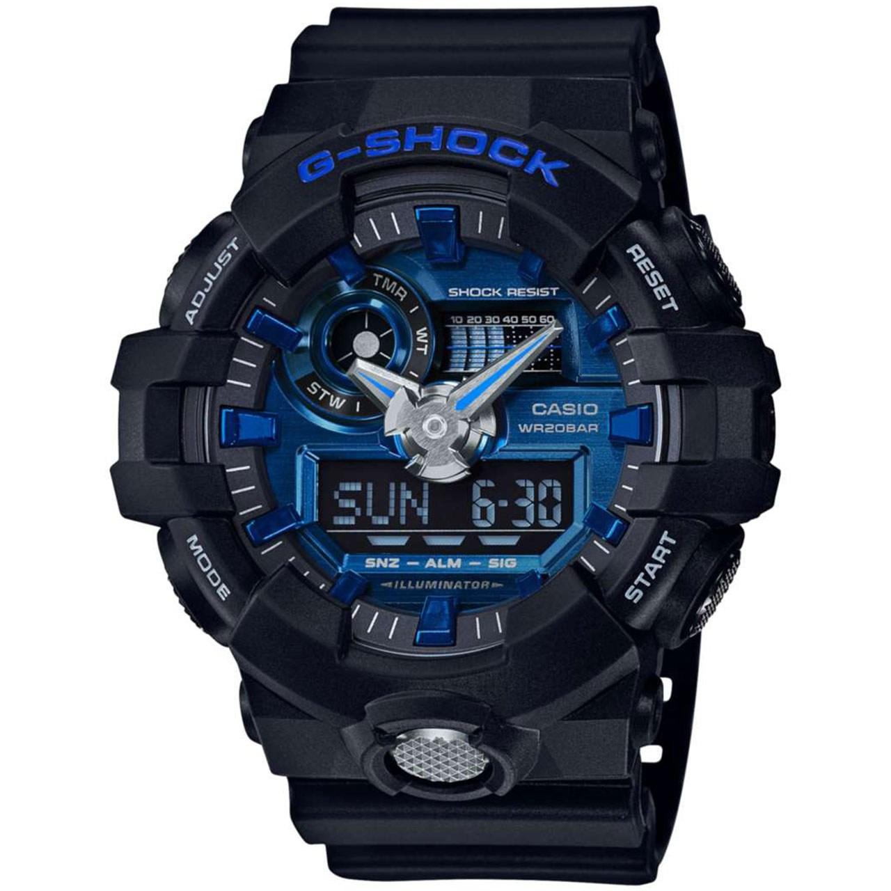 ساعت مچی عقربه ای مردانه کاسیو جی شاک مدل GA-710-1A2DR