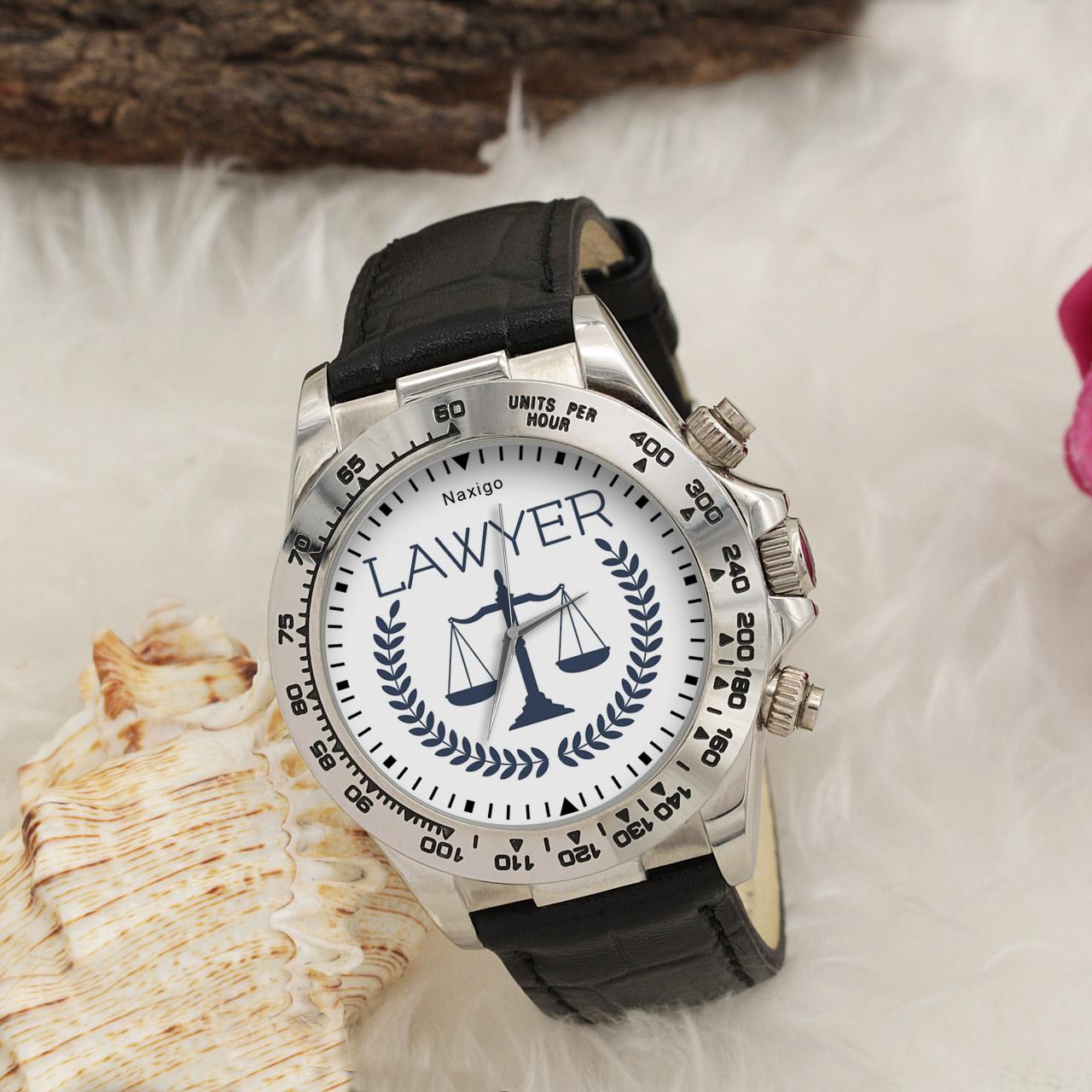 ساعت مچی  مردانه ناکسیگو طرح وکیل کد LS3521