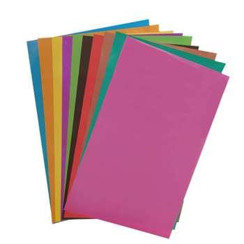 کاغذ گلاسه رنگی 25x34 کد 8214 بسته 10 عددی