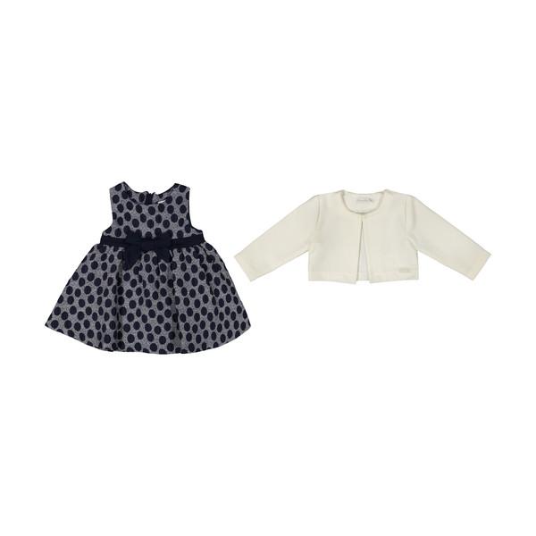 ست کت و پیراهن دخترانه مونا رزا مدل 2141237-01