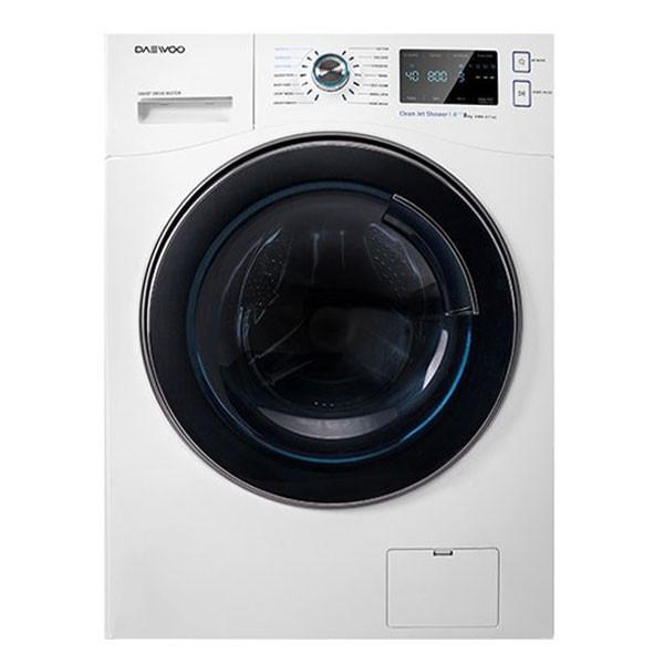 ماشین لباسشویی دوو مدل DWK-8540V ظرفیت 8 کیلوگرم