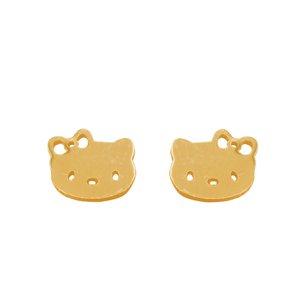 گوشواره طلا 18 عیار دخترانه رزالیا مدل Diamond-GEA-012