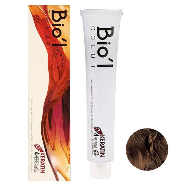 رنگ مو بیول شماره 3.0 حجم 100 میلی لیتر رنگ قهوه ای تیره