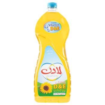 روغن مایع ویتامینه آفتاب گردان لادن - 1.5 لیتر