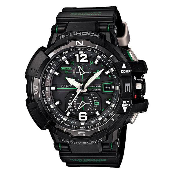 ساعت مچی عقربه ای مردانه کاسیو سری جی شاک مدل GW-A1100-1A3DR
