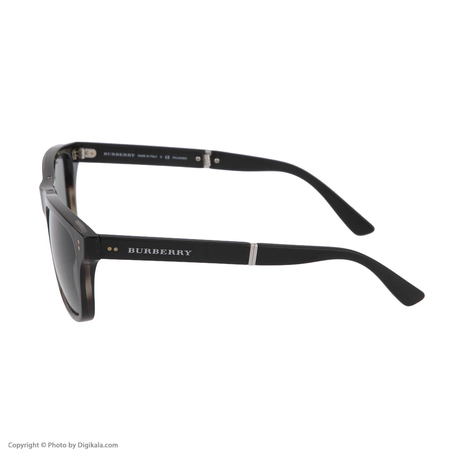 عینک آفتابی مردانه بربری مدل BE 4204S 3541T8 55 -  - 4