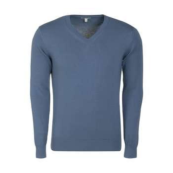 تصویر پلیور مردانه مدل 0KAM99085LT رنگ آبی