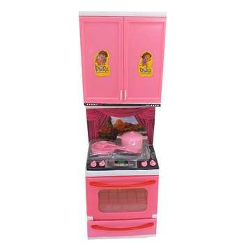 ست اسباب بازی آشپزخانه مدل گاز و کابینت