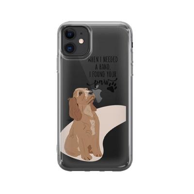 کاور وینا مدل I Found Your Paw مناسب برای گوشی موبایل اپل iphone 11