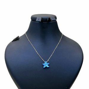 گردنبند نقره دخترانهطرح ستاره