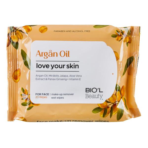 دستمال مرطوب بیول مدل Argan Oil بسته 20 عددی