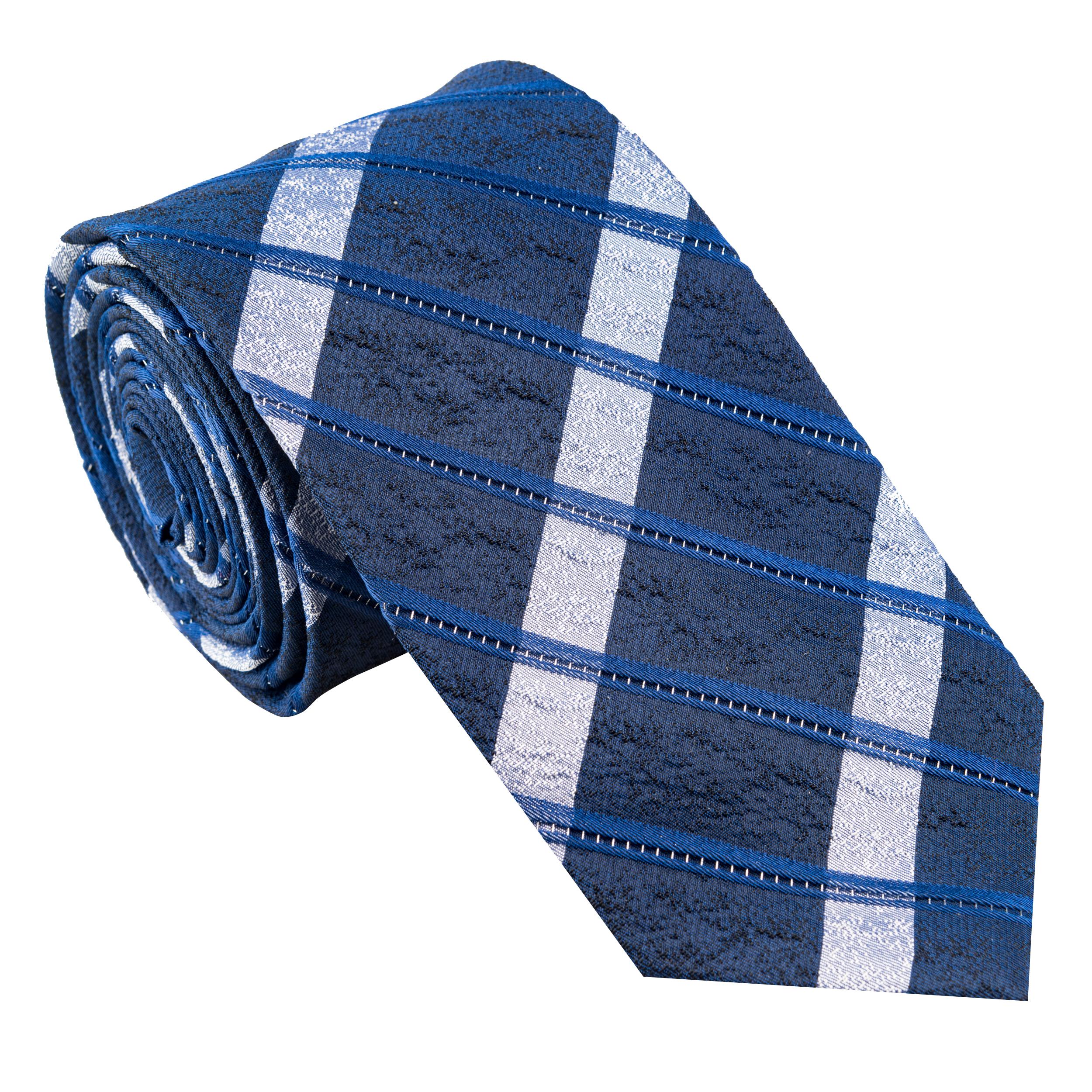 کراوات مردانه جیان فرانکو روسی مدل GF-ST523-BL