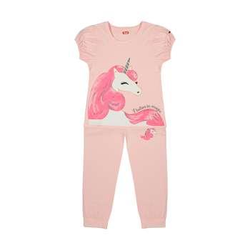 ست تی شرت و شلوار دخترانه مادر مدل 2041104-84