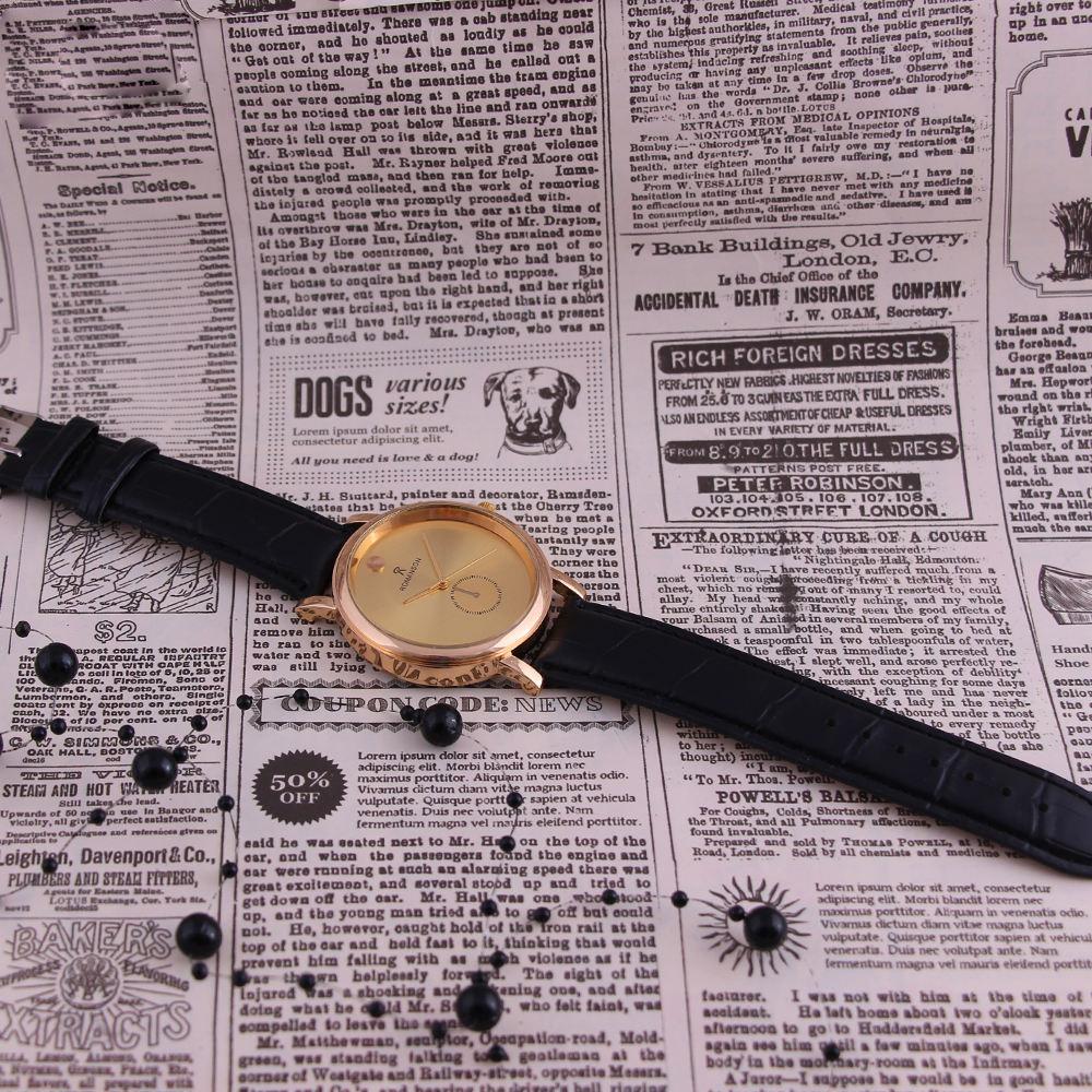 ساعت مچی عقربه ای مدل RO 3273 -ME-TA                     غیر اصل