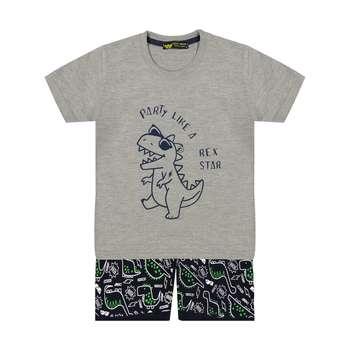 ست تی شرت و شلوارک بچگانه خرس کوچولو مدل 2011200-93