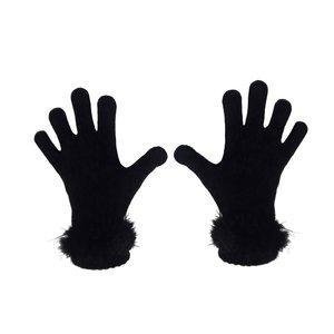 دستکش بافتنی زنانه تولیدی منوچهری کد  gh 09