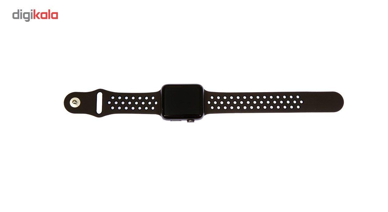 بند سیلیکونی طرح Nike مناسب برای اپل واچ 38 میلی متری main 1 3