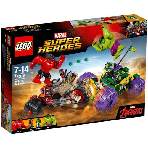 لگو سری Marvel Super Heroes مدل Hulk VS Red Hulk 76078