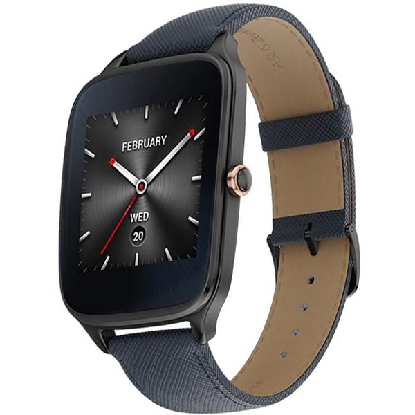 ساعت هوشمند ایسوس مدل زن واچ 2 WI501Q با بند چرمی